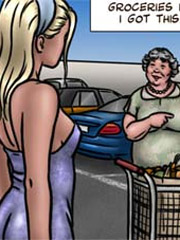 Unbelievable bdsm comic story with hot chicks got captured and tied up for bad tortures and fucking